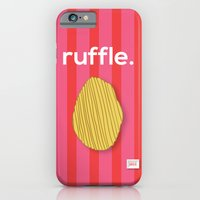 iPhone & iPod Case featuring Ruffle by ColorisBrave
