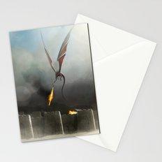 Desert Dragon Stationery Cards