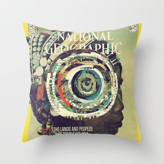 vortex Throw Pillow