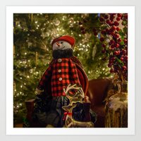 Merry Christams To All!  Art Print