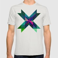 X Marks The Spot Mens Fitted Tee Silver SMALL