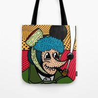 SEVERED EAR.  (Self Portait Of Van Gogh). Tote Bag