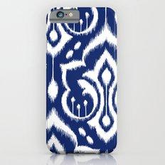 Ikat Damask Navy 2 Slim Case iPhone 6s