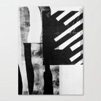 Monotype I Canvas Print