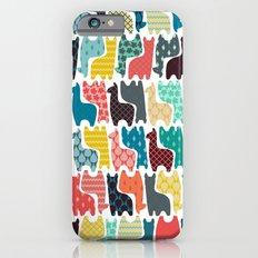 baby llamas iPhone 6 Slim Case