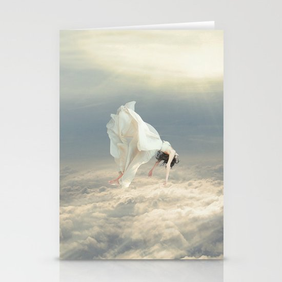 Free Falling Dream Stationery Card