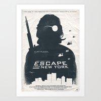 John Carpenter's Escape … Art Print