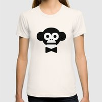 smart monkey Womens Fitted Tee Natural SMALL