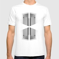 There. Macba, Barcelona Mens Fitted Tee White SMALL