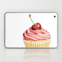 The Perfect Pink Cupcake Laptop & iPad Skin