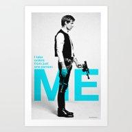 """Han Solo  - """"I Take Or… Art Print"""
