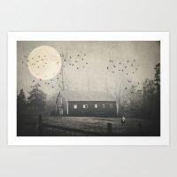 Dream A Little Dream....… Art Print