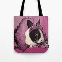 Pink Bunny Princess Prin… Tote Bag