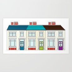 Terrace 1 Art Print