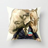 American Politics Throw Pillow