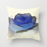 Something Blue... Throw Pillow