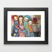 Wonderful Women Framed Art Print
