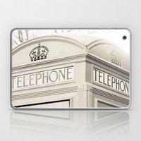 London Telephone Booth Laptop & iPad Skin