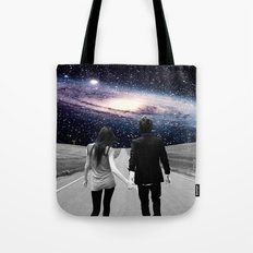 Road to the Universe Tote Bag