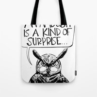 Said Owl Tote Bag
