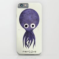 iPhone & iPod Case featuring OCTOPUS by Goye