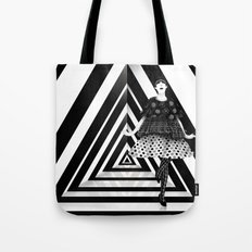 The Many Faces of Peggy Moffitt Tote Bag