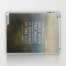 II. Anything essential is invisible to the eyes. Laptop & iPad Skin