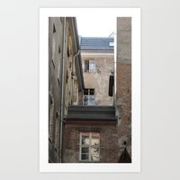Somewhere in Berlin Art Print