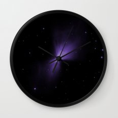 Mysterious Nebula Wall Clock