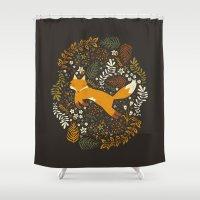 Fox Tales Shower Curtain