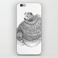 The Bear And The Bees- F… iPhone & iPod Skin