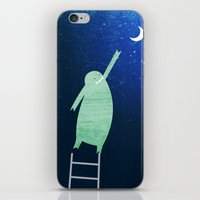 Monster Moon iPhone & iPod Skin