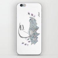 Geometric Beard iPhone & iPod Skin