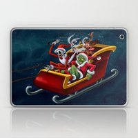 Christmas Hijackers Laptop & iPad Skin