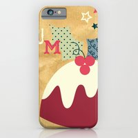 Yummy Christmas Pudding! iPhone 6 Slim Case