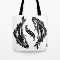 Signs of the Zodiac - Pisces Tote Bag