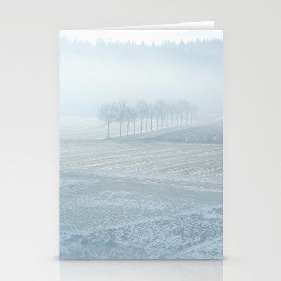 Winter Landscape Stationery Card
