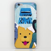 Rawr Returns! iPhone & iPod Skin