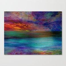 Ocean at Sunset Canvas Print