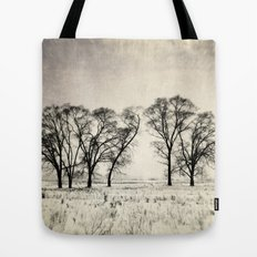 Dark Winter Days Tote Bag