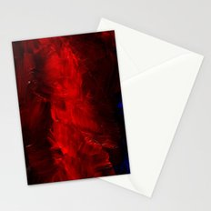 Red Duvet Cover Stationery Cards