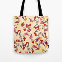 Watercolour Geometric Sh… Tote Bag