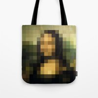 Tote Bag featuring mosaic by Panic Junkie