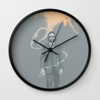 Out Of The Ashes Arose A… Wall Clock