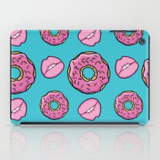donuts and lips iPad Case
