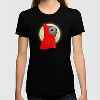 Hooded Seal Womens Fitted Tee Black SMALL
