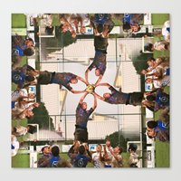 Rugby Carousel Canvas Print