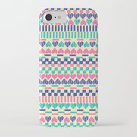 hearts iPhone & iPod Cases featuring Hearts by Lydia Meiying