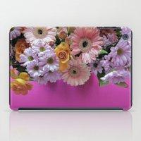 Pink 'n Flowers iPad Case