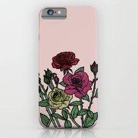 Delicate Roses iPhone 6 Slim Case